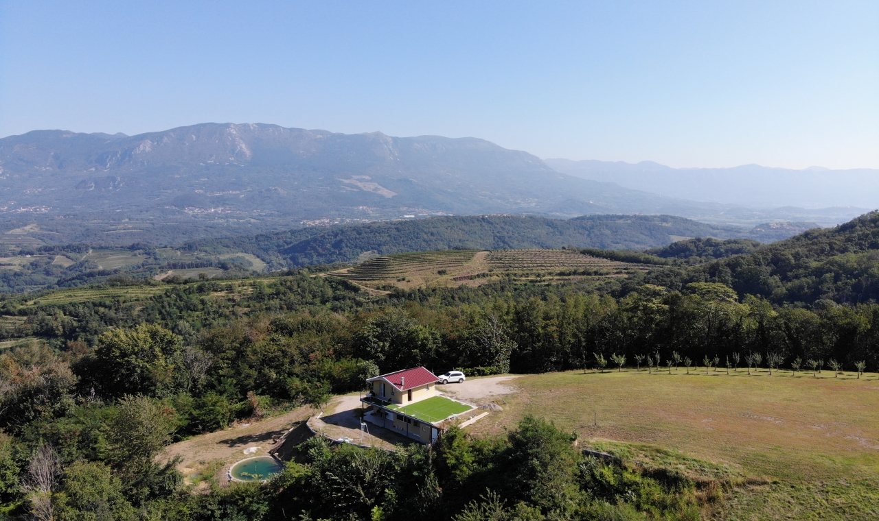 Isolated Property with View for Sale - sloveniarealestates.com